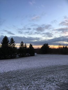 sunrise-blue-sky-snow